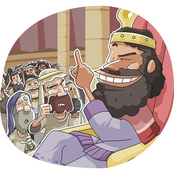 ヤラベアムとイスラエルに荒々しく答えたレハベアム