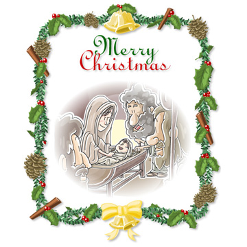 キリストの誕生(クリスマス版)