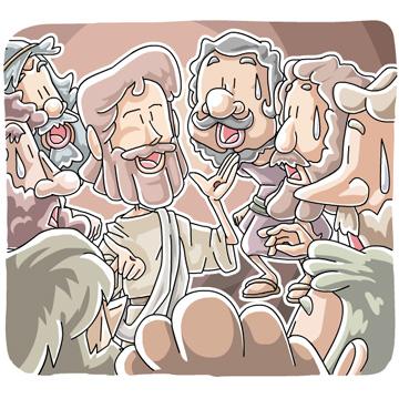 弟子たちに現れたイエス