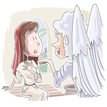 イエス誕生の告知(受胎告知)