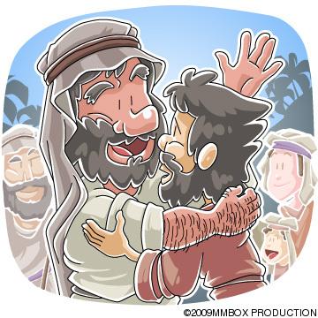 ヤコブとエサウの再会