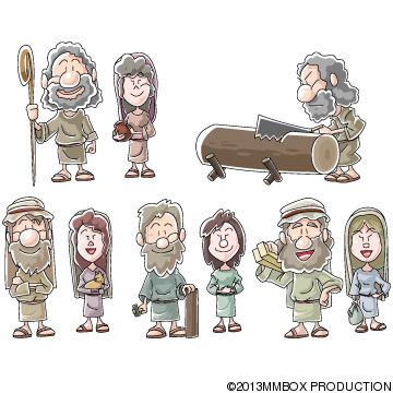 ノアの方舟の人々