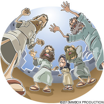 足のきかない人を癒やしたパウロ