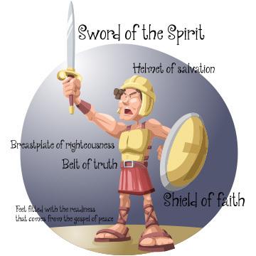 神のすべての武具をとりなさい