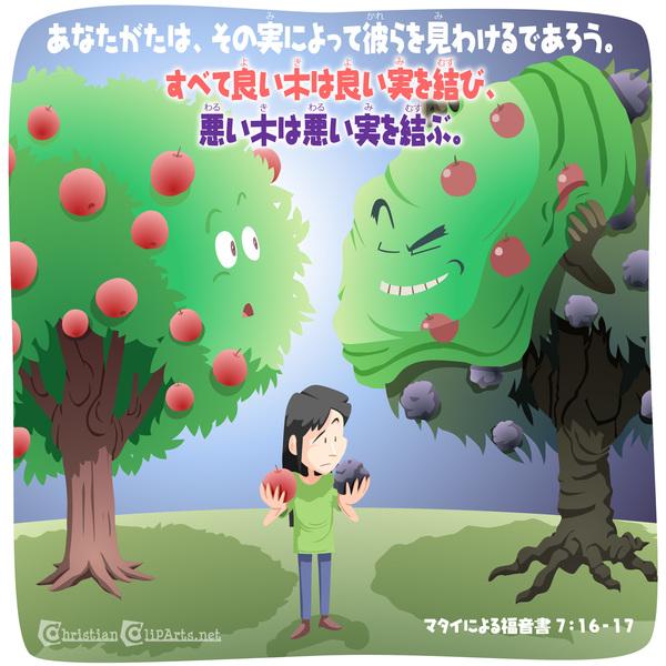 良い木は良い実を結ぶ